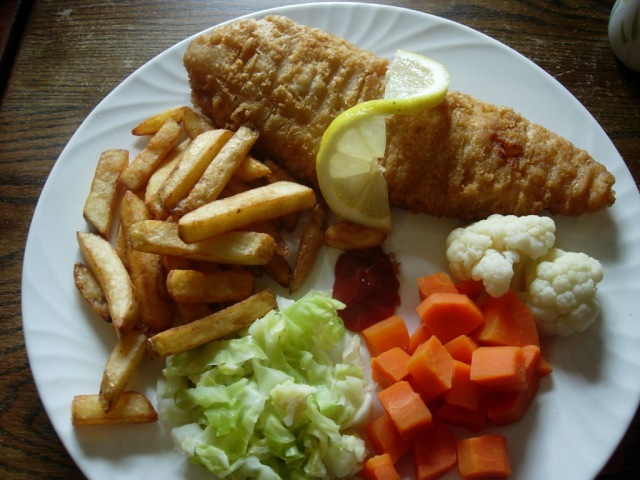 Fish n Chips .... Pub style