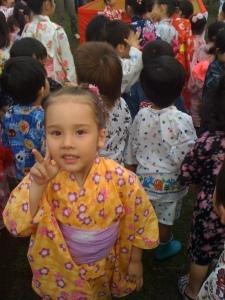 Hana in yukata
